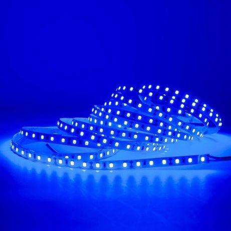 Taśma LED niebieska 5m 4 sztuki professional