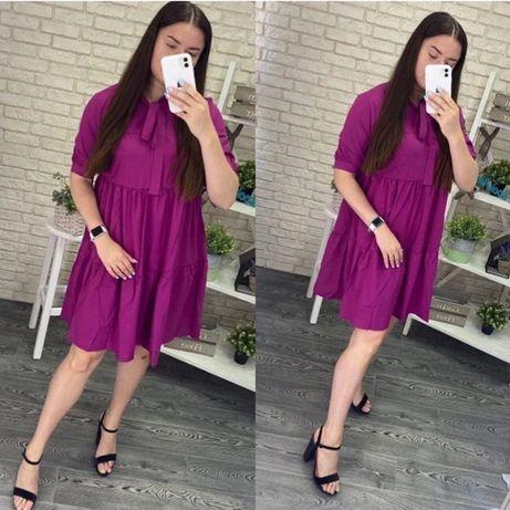 Платье большого размера (58 батал)