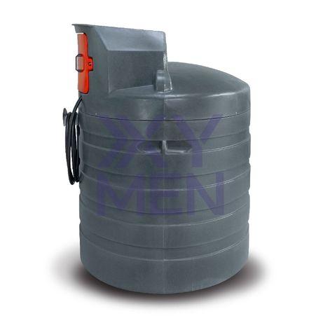 Dwupłaszczowy zbiornik na paliwo 1500L 2500L NOLEN METRIA