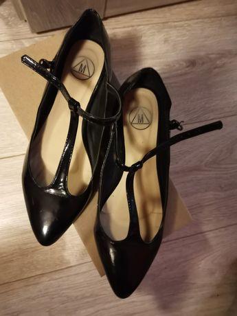Buty balerinki 38 jak Nowe zapięcia