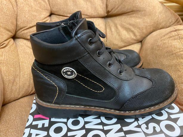 Детские демисезонные ботинки (33 размер)