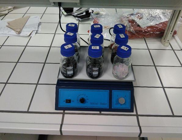 agitador orbital para laboratorio