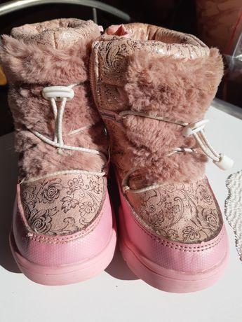 Зимние сапожки, зимові чоботи на дівчинку, томіки