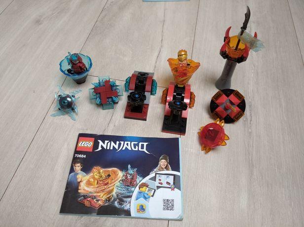 Lego Ninjago Spinjitzu Kai Kontra Samuraj 70684