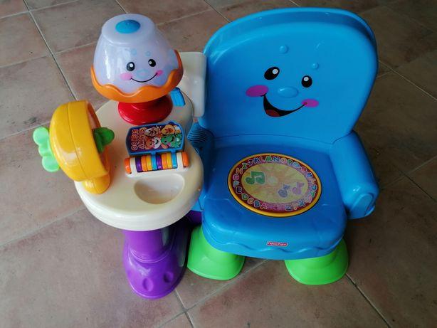 Cadeira musical FisherPrice