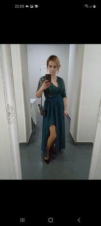 Sukienka butelkowa zielen
