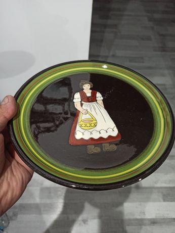 Kolekcjonerski unikat talerz dekoracyjny
