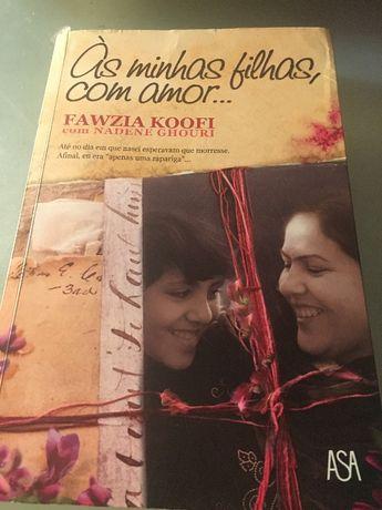 """Livro de leitura """"aÀs minhas filhas com amor"""""""