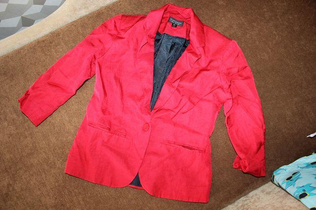 Пиджак жакет красный XS_S Topshop