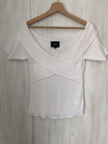 Biała elegancka bluzka M
