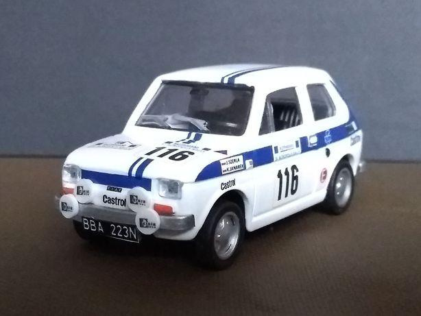 Fiat 126p Rajd Acropolis 1984 Szerla Skala 1:43 Konwersja