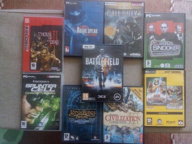 Lote jogos PC PSP e DVD's