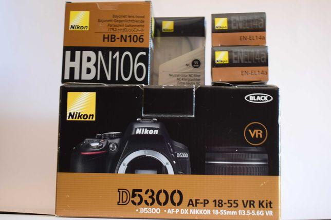 Kit Nikon D5300 com extras