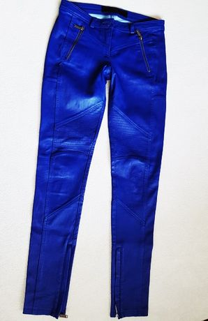 Skórzane spodnie - KARL LAGERFELD