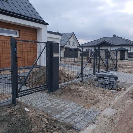 Ogrodzenia panelowe producent montaż ogrodzeń panelowych i palisadowyc