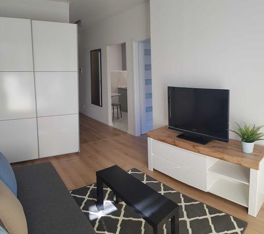 nowe 2 pokojowe mieszkanie na wynajem z dużym balkonem