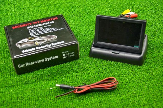 Автомобильный Монитор Складной для камеры заднего вида 4,3″ JL403ST