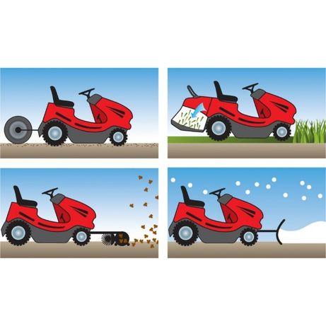 Traktorek kosiarka Solo by Alko T13 Hydrostat B&S Najtaniej Raty 20x0%
