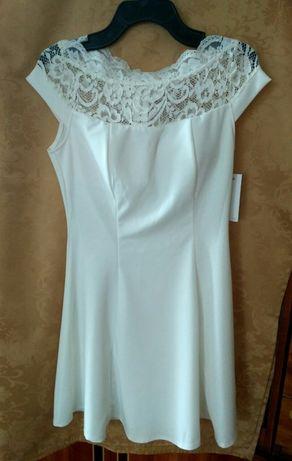 Біла сукня (платье) святкова біла нова
