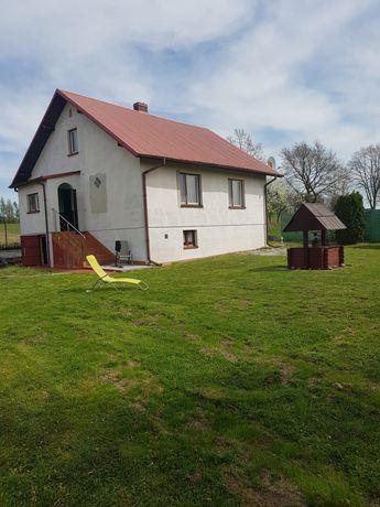 Dom na wsi Ksany+3.91h pola,Kazimierski,Świetokrzyskie
