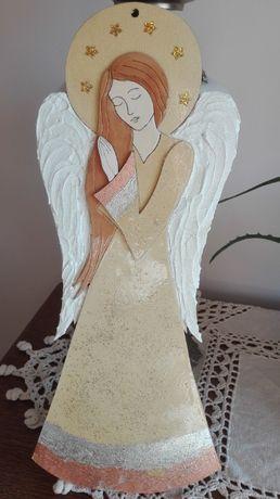 Anioł decoupage