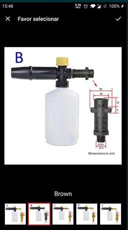 Pistola de espuma para máquina de lavar à pressão