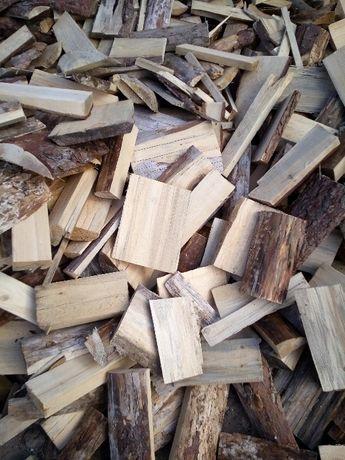 Zrzyny tartaczne pociete Drewno opałowe