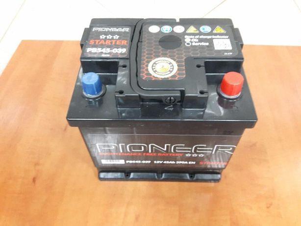 Nowy akumulator rozruchowy Pioneer 44Ah 45Ah P+ L-