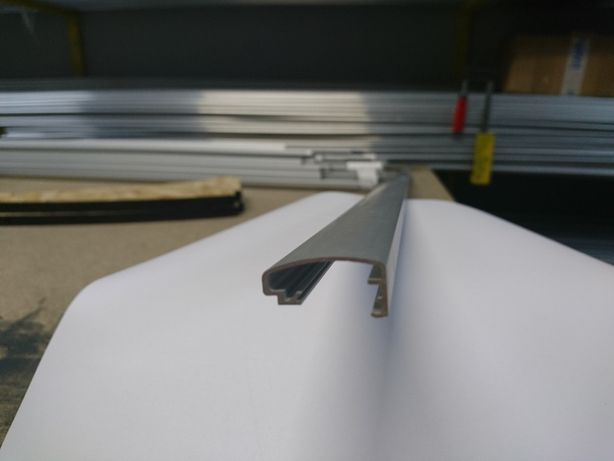 Клик-профиль алюминиевый рамочный 25 мм (КРЫШКА)