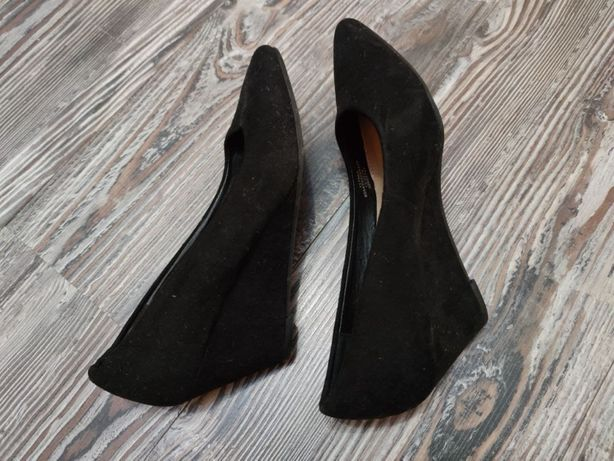 Туфли замшевые, размер 36