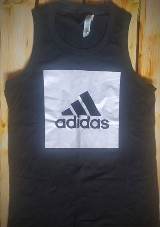 Мужская майка футболка черная adidas адидас ,оригинал