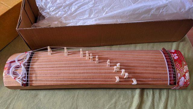 Guzheng mini Chińska Harfa, cytra oryginał