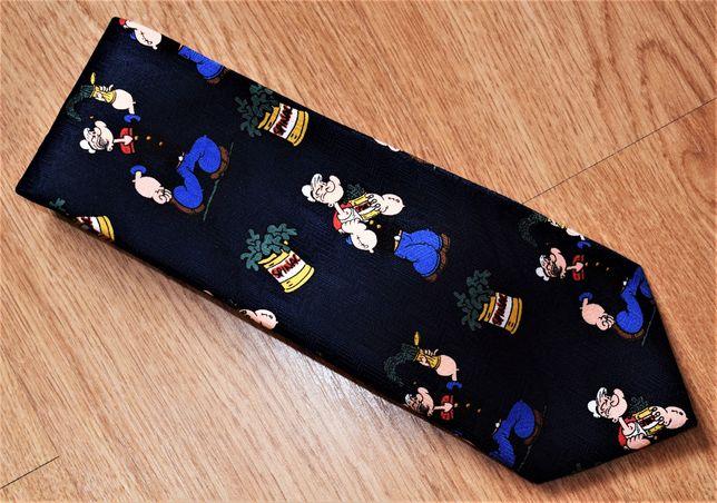 Krawat. Popeye.
