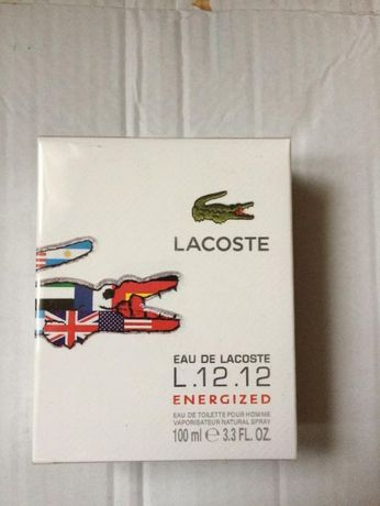 Lacoste L.12.12 blanc Energized 100 ml