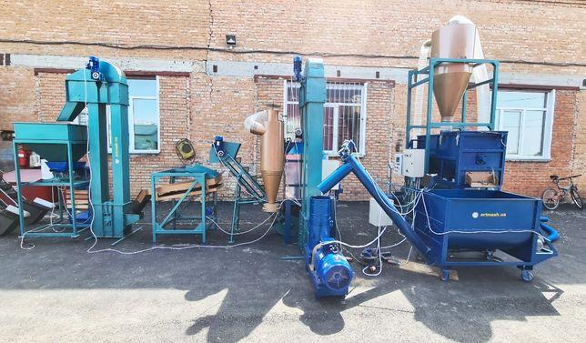Комбикормовый завод под ключ 2 т/ч от производителя Артмаш