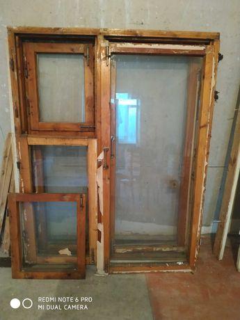отдам БЕСПЛАТНО деревянное двойное окно + металлические радиаторы +