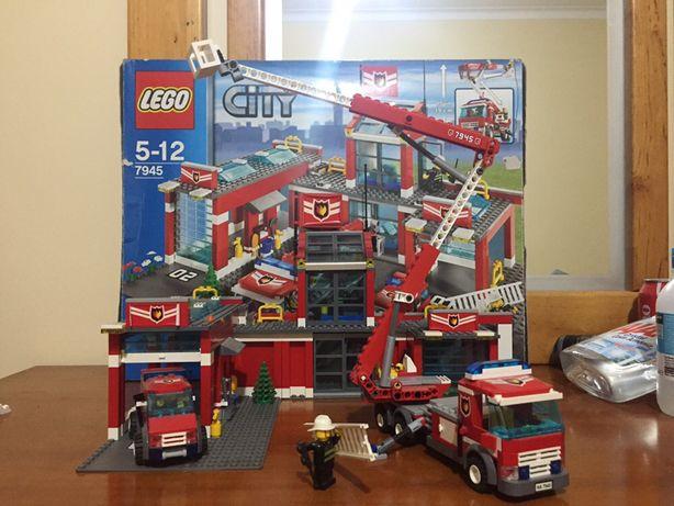 Lego city Quartel dos Bombeiros NOVO edição limitada