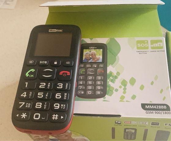 Telefon dla seniora  MAXCOOM MM428