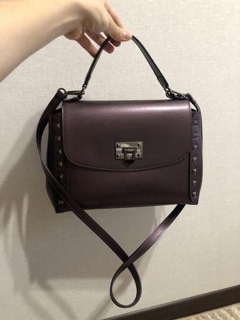 Шкіряна жіноча сумка Vera pelle