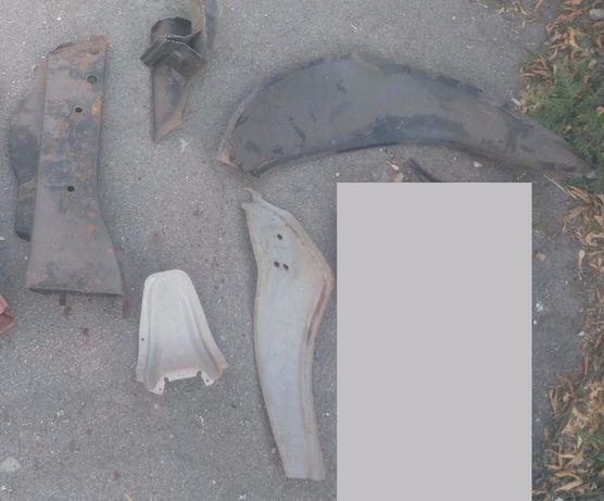 лонжерон задний, деталь кузова ВАЗ-2101
