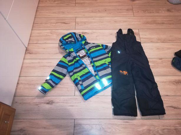 Kurta i spodnie narciarskie 110/116