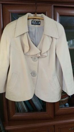Пальто кашемірове коротке