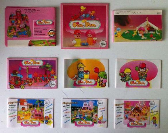 Lote de Catálogos Pin Y Pon PINYPON dos Anos 80