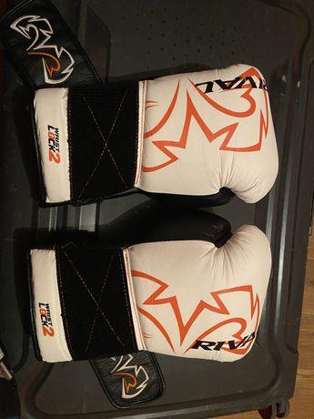 Перчатки боксерские Rival rs11v для спаринга 16oz кожа
