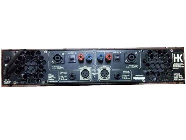 Niezawodna prof. końcówka mocy 2x600 Watt HK zamiana na Power mixer