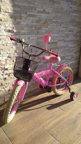Rower HELLO KITTY koła 16
