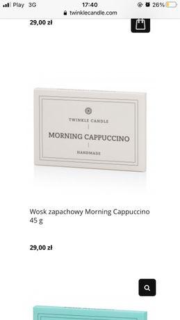 Wosk do kominka Twinkle Candle Morning Capuccino