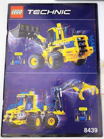 Lego Technic 8439 Ładowarka Pneumatyczna
