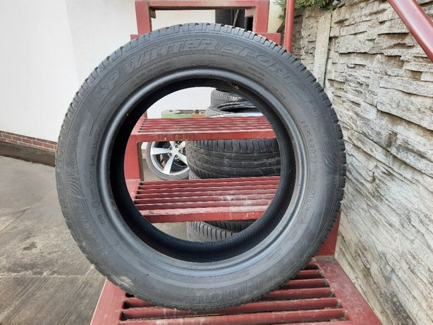 Opona zimowa 215/60 R17 Dunlop B. 5,5mm Montaż gratis!