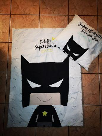 Komplet pościeli z wypełnieniem Batman